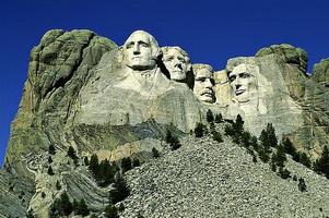 Монументальная скульптура президентов США