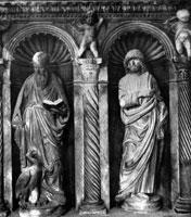 Статуи апостолов (капелла в Трогире)