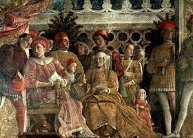 Роспись камеры Дельи Спози (А. Мантенья, ок. 1474 г.)